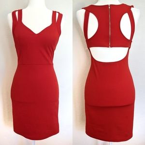 Vintage Shop Sweetheart Cutout Dress: Large
